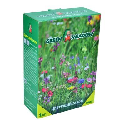 """Газон цветущий Зеленый ковер """"Цветущий мавританский газон"""" 1 кг"""