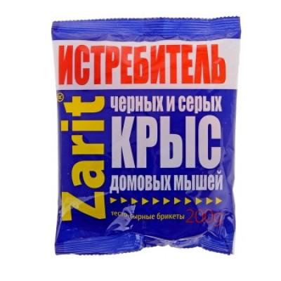 Средство от грызунов Зарит Истребитель ТриКота, тес.-сыр., брик., 200 г