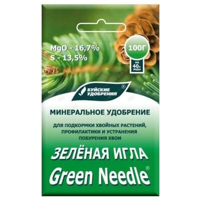 Зеленая игла для хвойных, 100 г